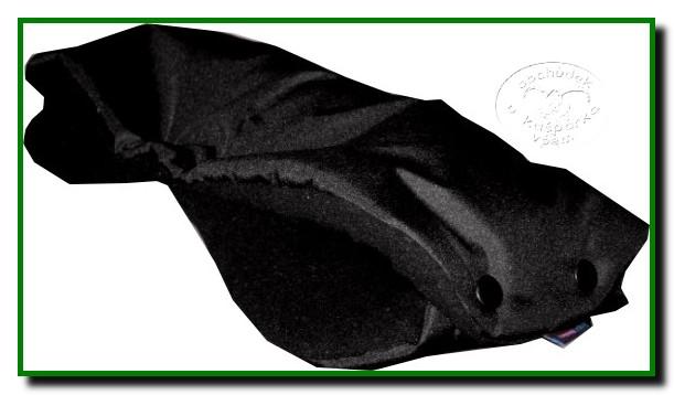 Rukávník na kočárek -černá černá